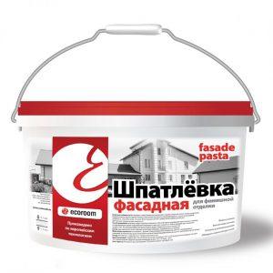 Фасадная шпаклевка — особенности выбора и руководство для работы с материалом!
