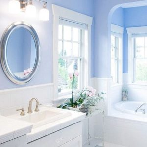 Краска для ванной — какие краски лучше выбирать для оформления ванной смотрите на фото!