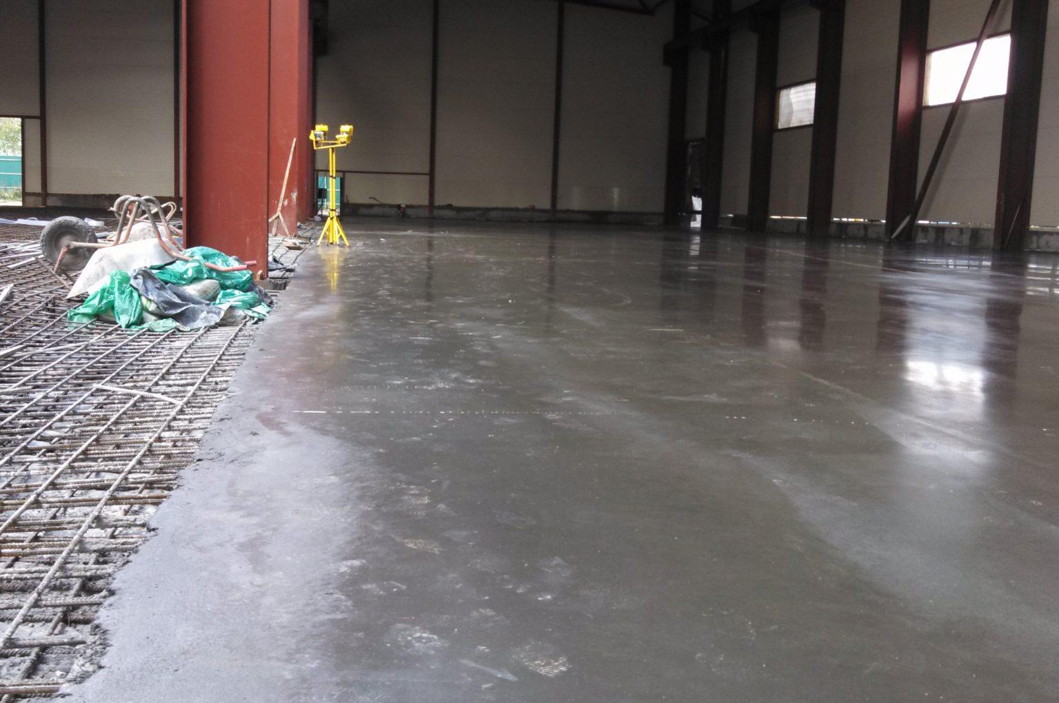 стоимость заливки бетонных полов