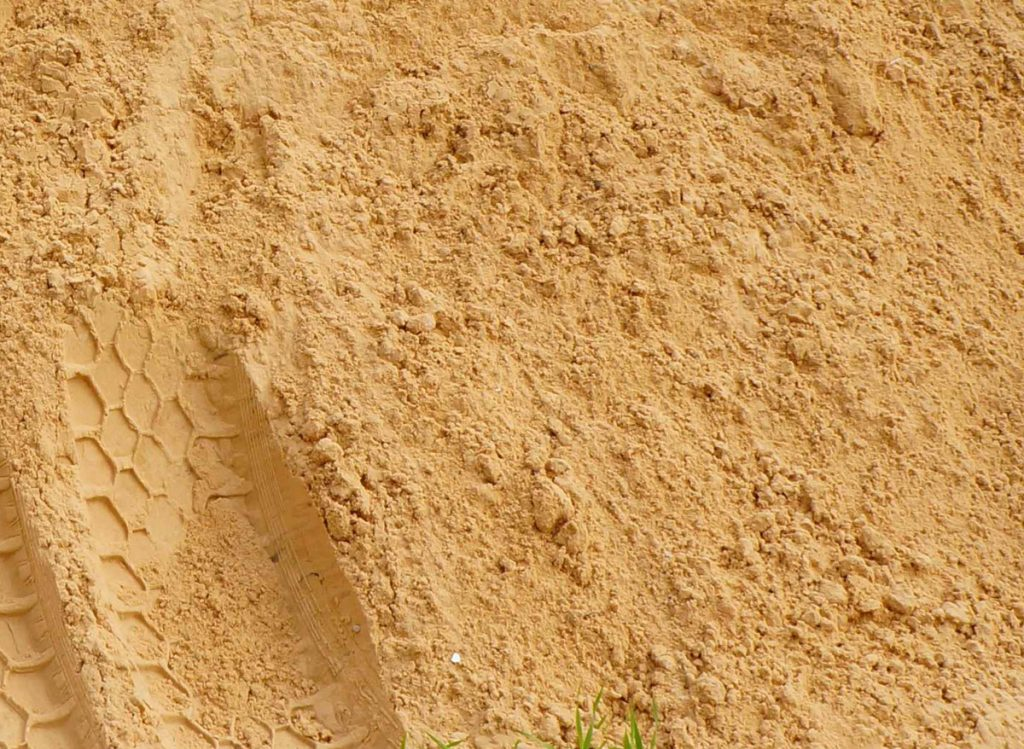 песок без примесей
