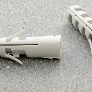 Дюбель пластиковый — виды, размерность, подбор сверла и особенности крепления (110 фото)