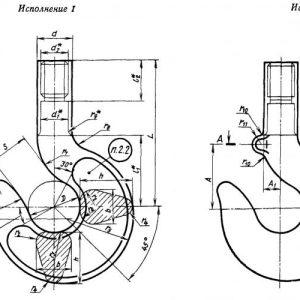 Грузовые крюки — все виды и конструктивные отличия грузовых крюков смотрите в фото обзоре!