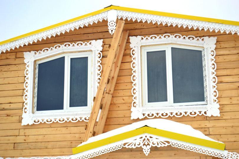 Наличники на окна в деревянном доме технология изготовления