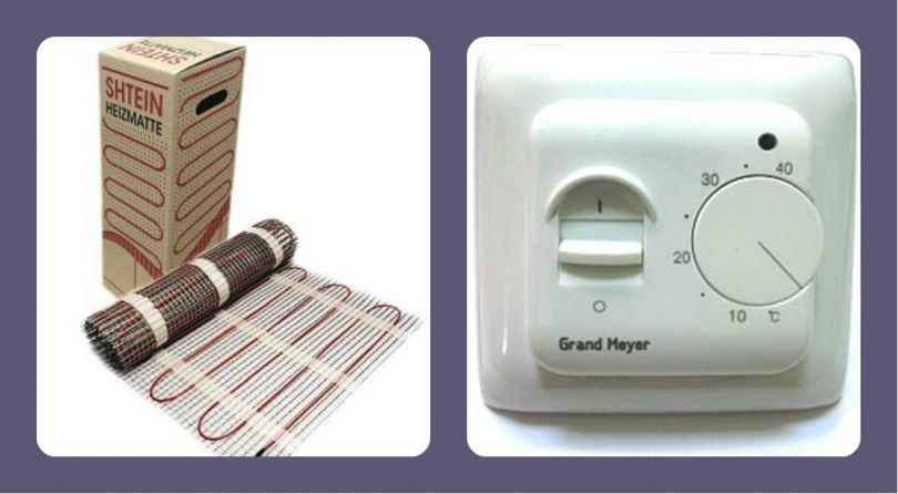 Терморегулятор для теплого пола своими руками