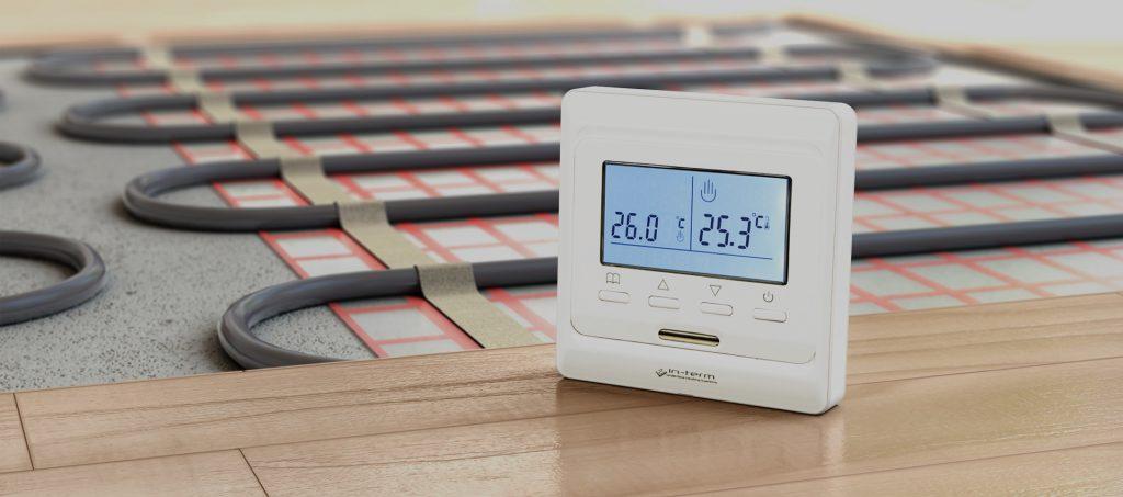 Электронный регулятор теплого пола